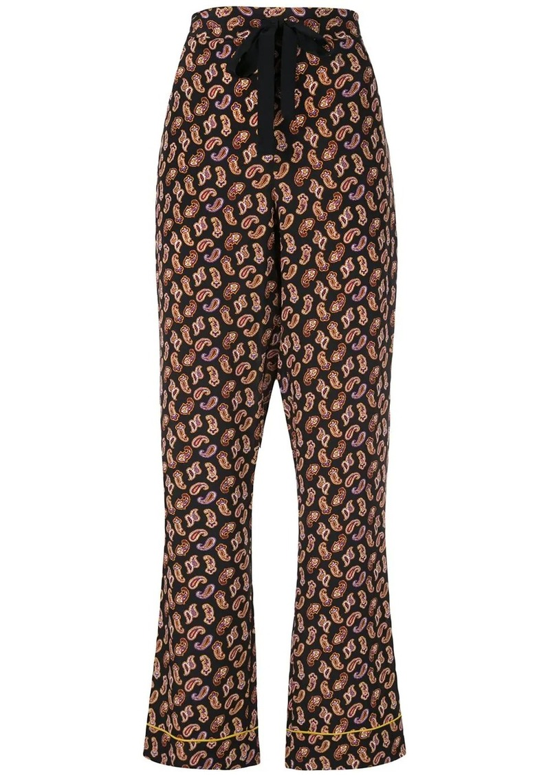 Diane Von Furstenberg Veronica trousers