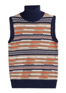 Diane Von Furstenberg Vest with Merino Wool and Silk