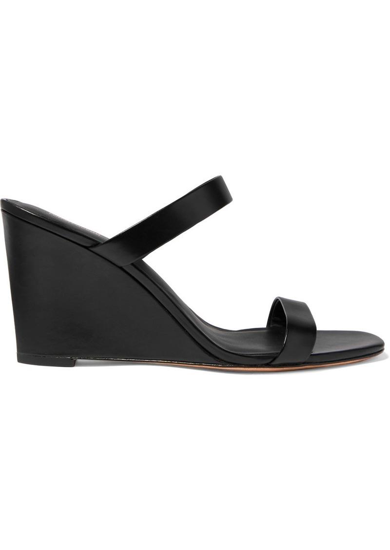 Diane Von Furstenberg Vivienne Leather Mules