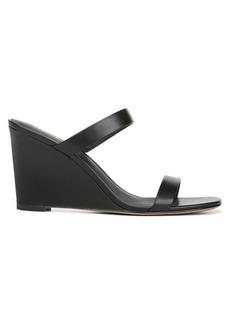 Diane Von Furstenberg Vivienne Leather Wedge Mules