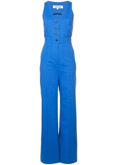 Diane Von Furstenberg waistcoat jumpsuit
