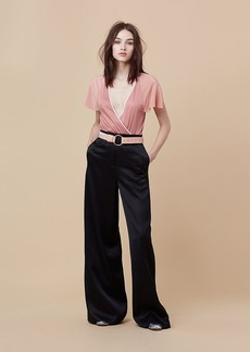 Diane Von Furstenberg Wide Leg Evening Pant