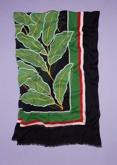 Diane Von Furstenberg Windsor Palm Mod Viscose Scarf