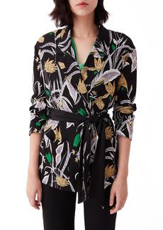 Diane Von Furstenberg Women's Dvf Esther Floral Jacket