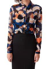 Diane Von Furstenberg Women's Dvf Lorelai Floral Button-Up Shirt