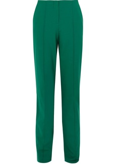 Diane Von Furstenberg Wool-blend Straight-leg Pants