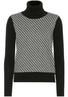 Diane Von Furstenberg Wool-blend turtleneck sweater