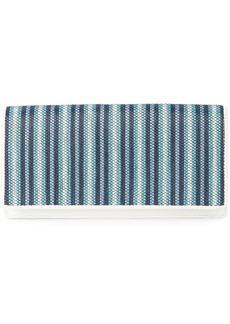Diane Von Furstenberg woven stripe wallet