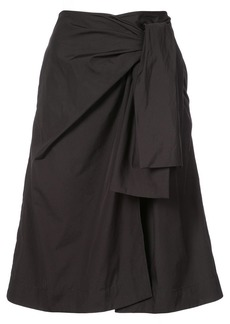Diane Von Furstenberg wrap front skirt
