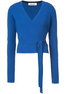 Diane Von Furstenberg wrap top