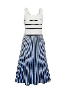 Diane Von Furstenberg Yasmin Striped Dress
