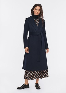 Diane Von Furstenberg Yursa Wool Belted Coat