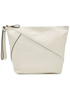 Diane Von Furstenberg Zipped Leather Clutch