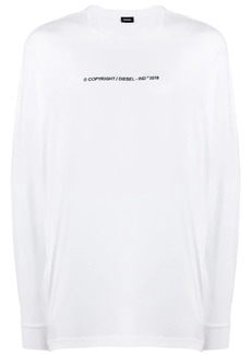 Diesel embroidered T-shirt