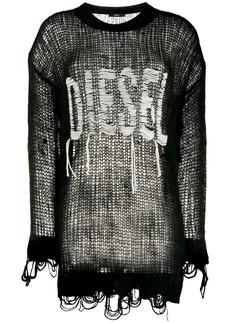 Diesel logo knit top