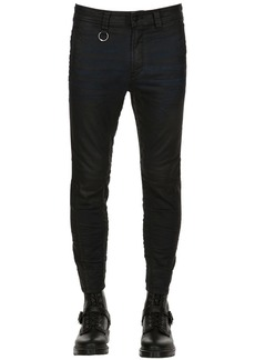Diesel 15cm Cropped Waxed Cotton Jeans