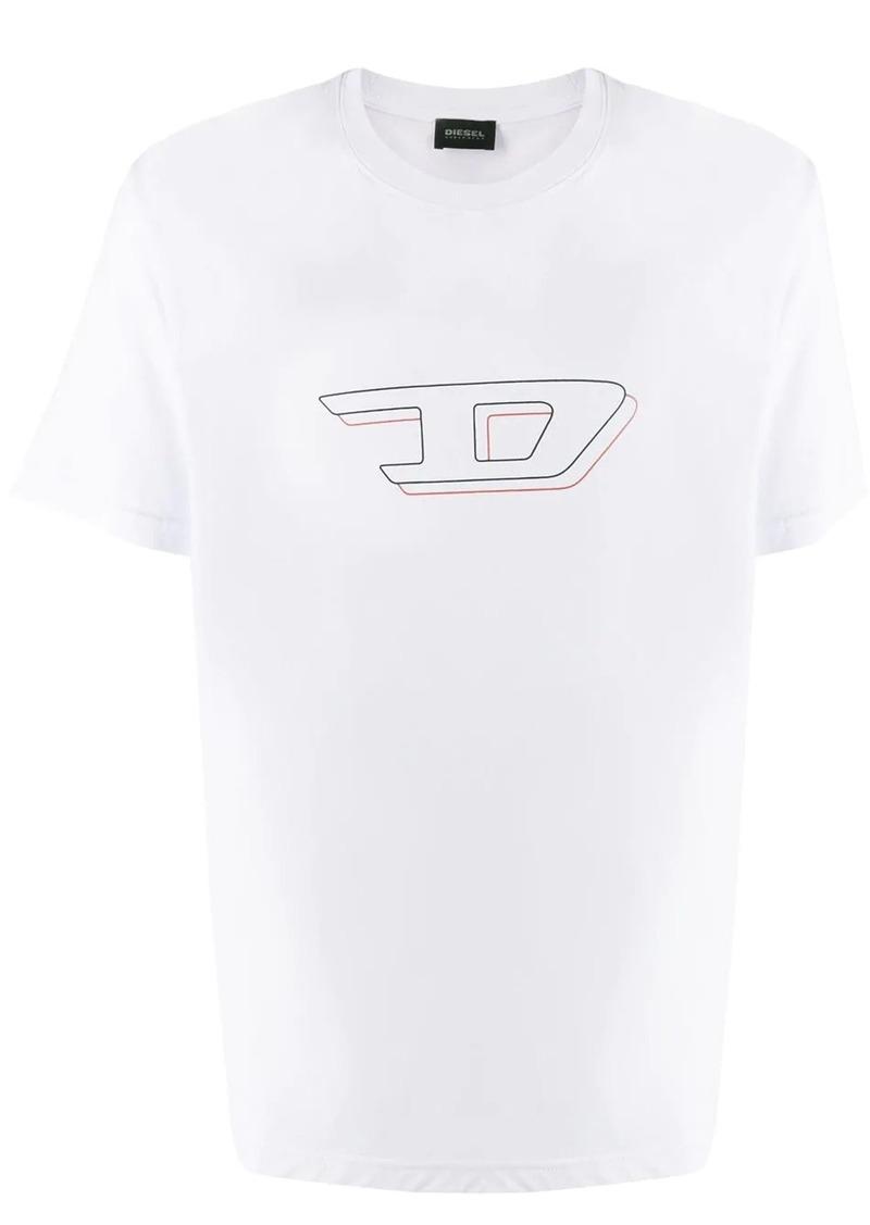 Diesel 3D logo print T-shirt