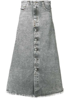 Diesel A-line skirt in denim