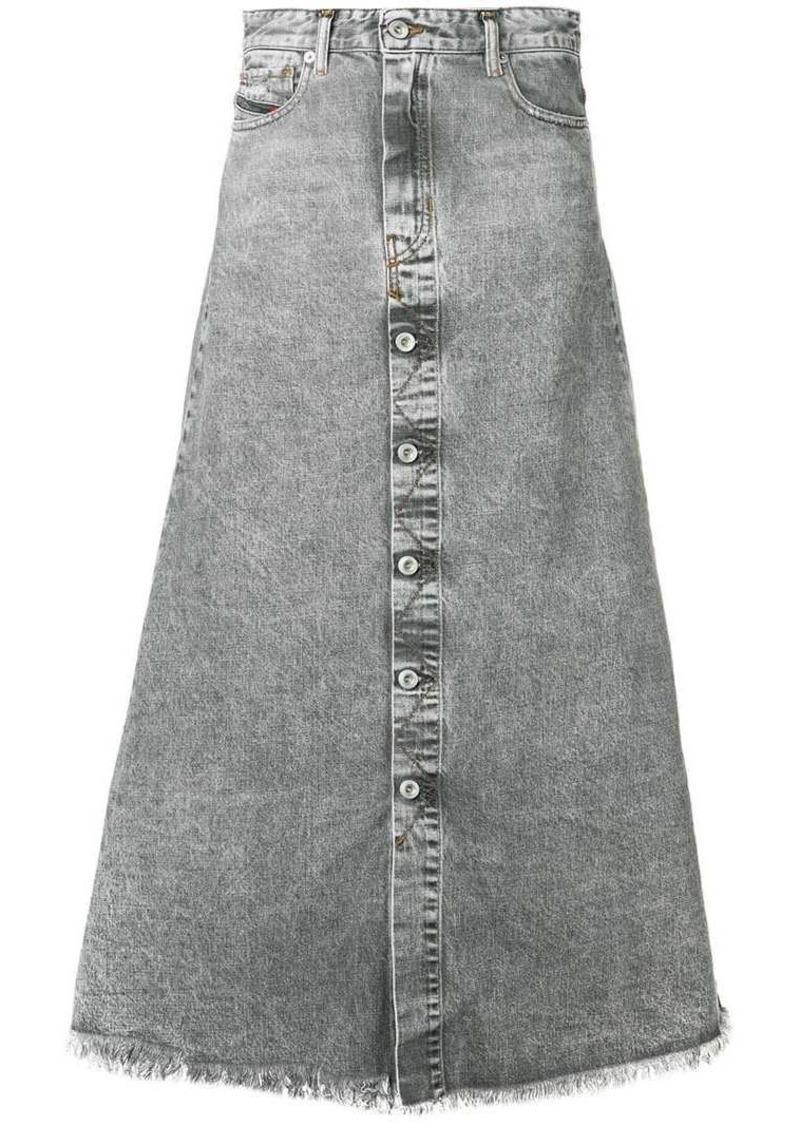 Diesel A-line skirt in denim