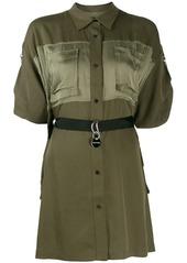 Diesel adjustable shirt dress