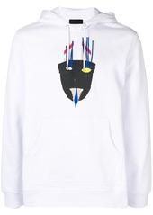 Diesel appliqué hoodie