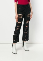 Diesel Aryel 084WH ripped jeans