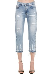 Diesel Aryel Distressed Cotton Denim Jeans