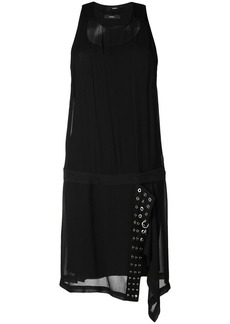 Diesel asymmetric eyelet dress