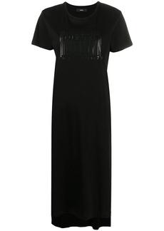 Diesel asymmetric T-shirt dress