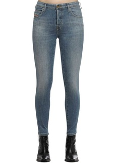 Diesel Babhila Cropped Cotton Denim Jeans