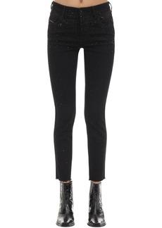 Diesel Babhila Embellished Skinny Jeans