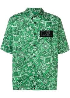 Diesel bandana-print shirt