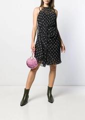 Diesel belted print dress