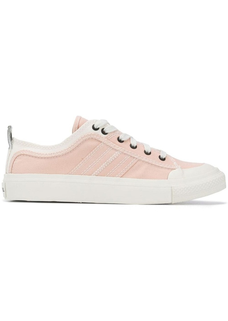 Diesel bicolour low top sneakers