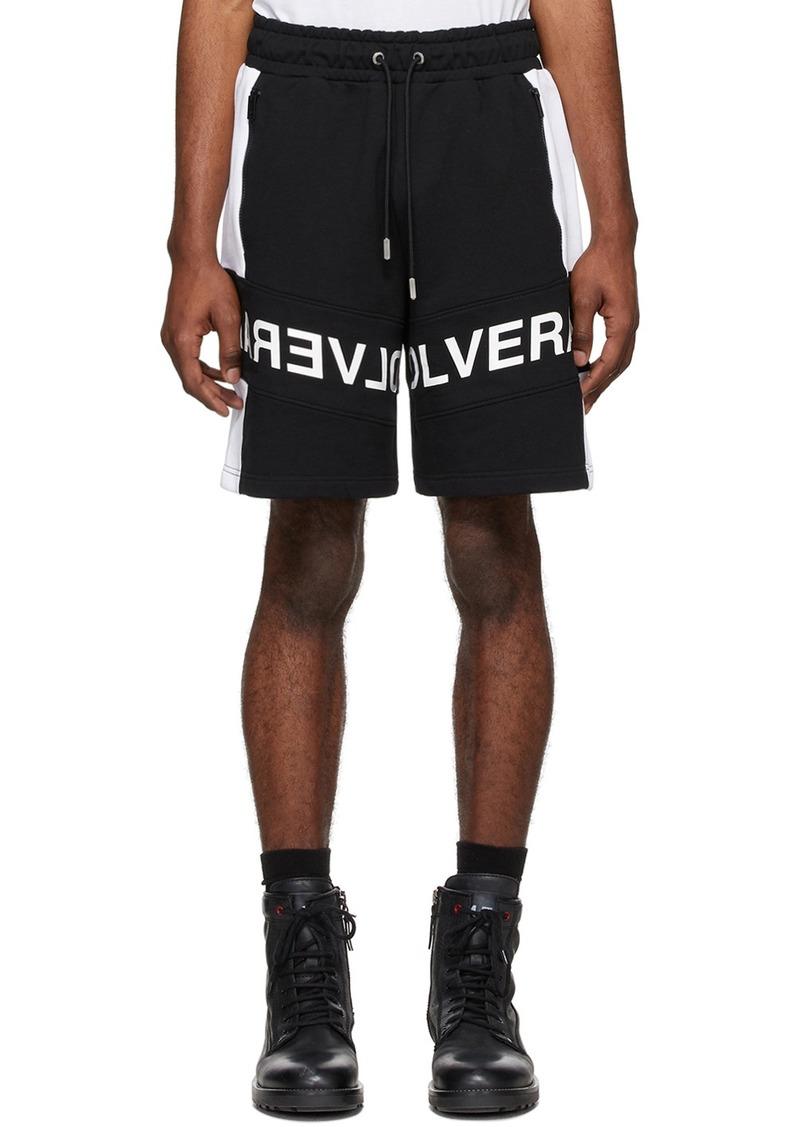 Diesel Black & White P-Sham Shorts