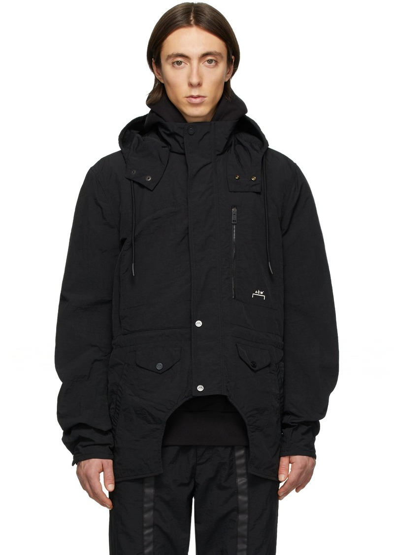 Diesel Black A-Cold-Wall* Edition Overdyed Cut-Out Jacket