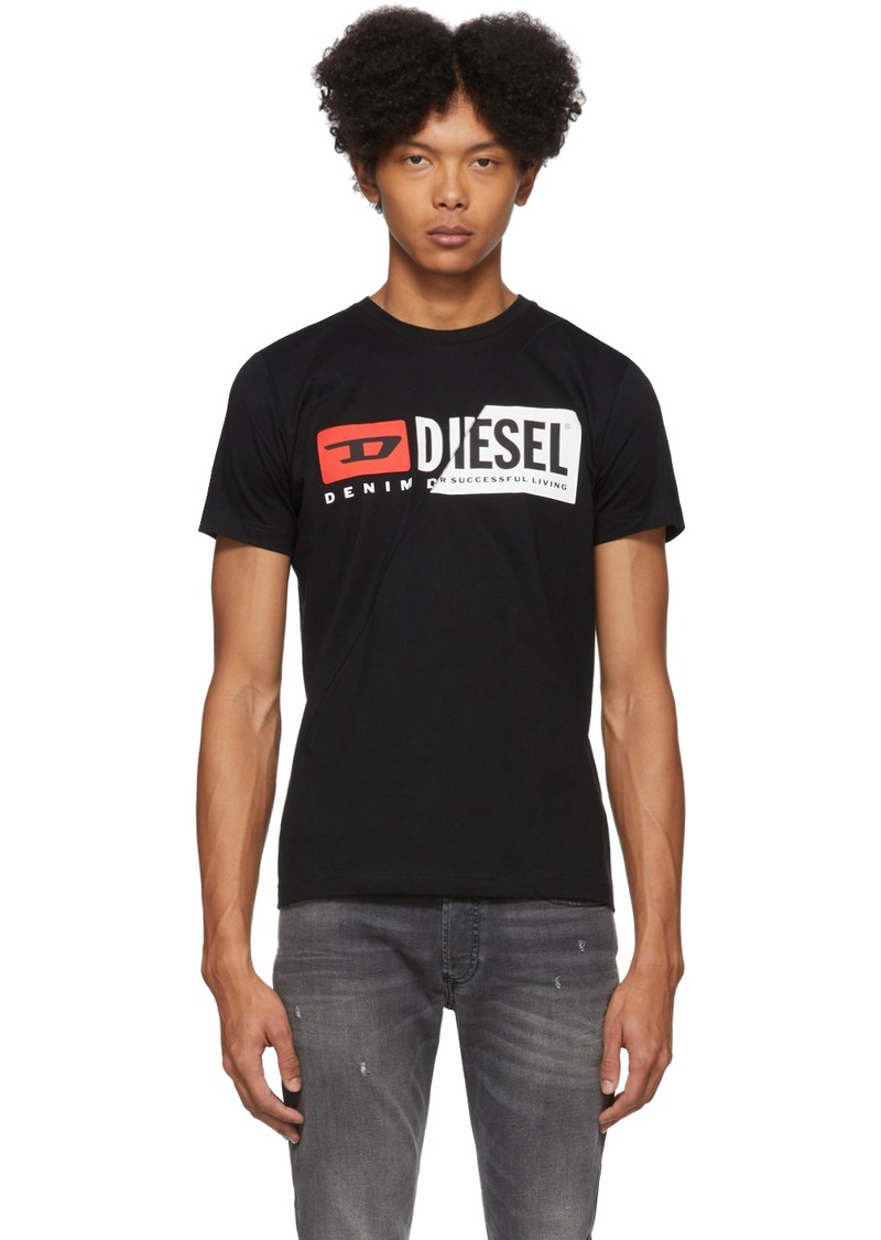 Diesel Black Cut T-Shirt