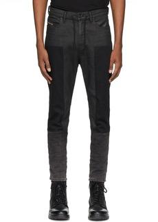 Diesel Black Denim D-Vider 0094P Jeans