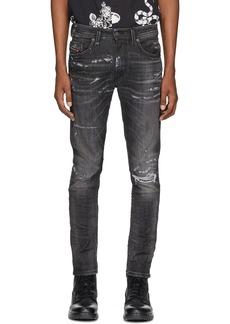 Diesel Black Denim Thommer 0098E Jeans