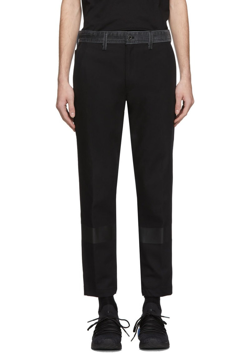 Diesel Black Kapp Trousers