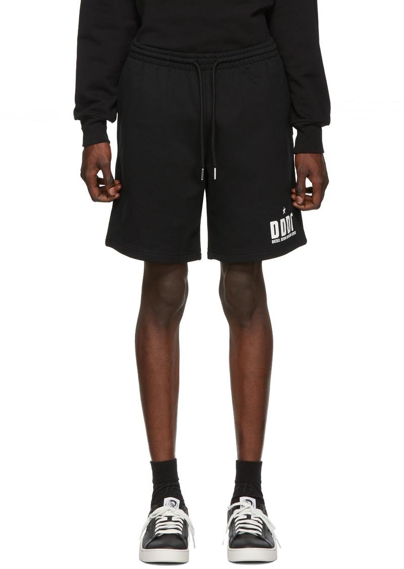 Diesel Black P-Alf Shorts