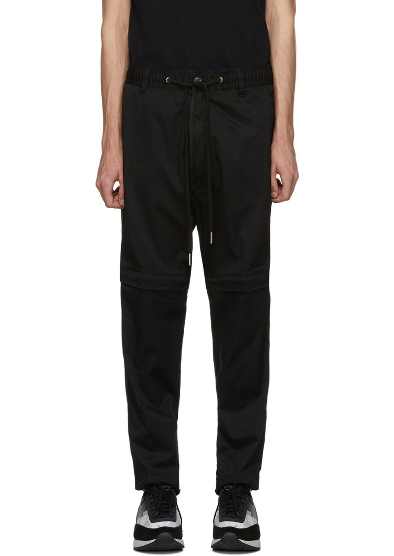 Diesel Black P-Cashort Trousers