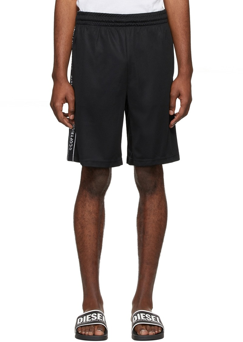 Diesel Black P-Hitoshi-S1 Shorts