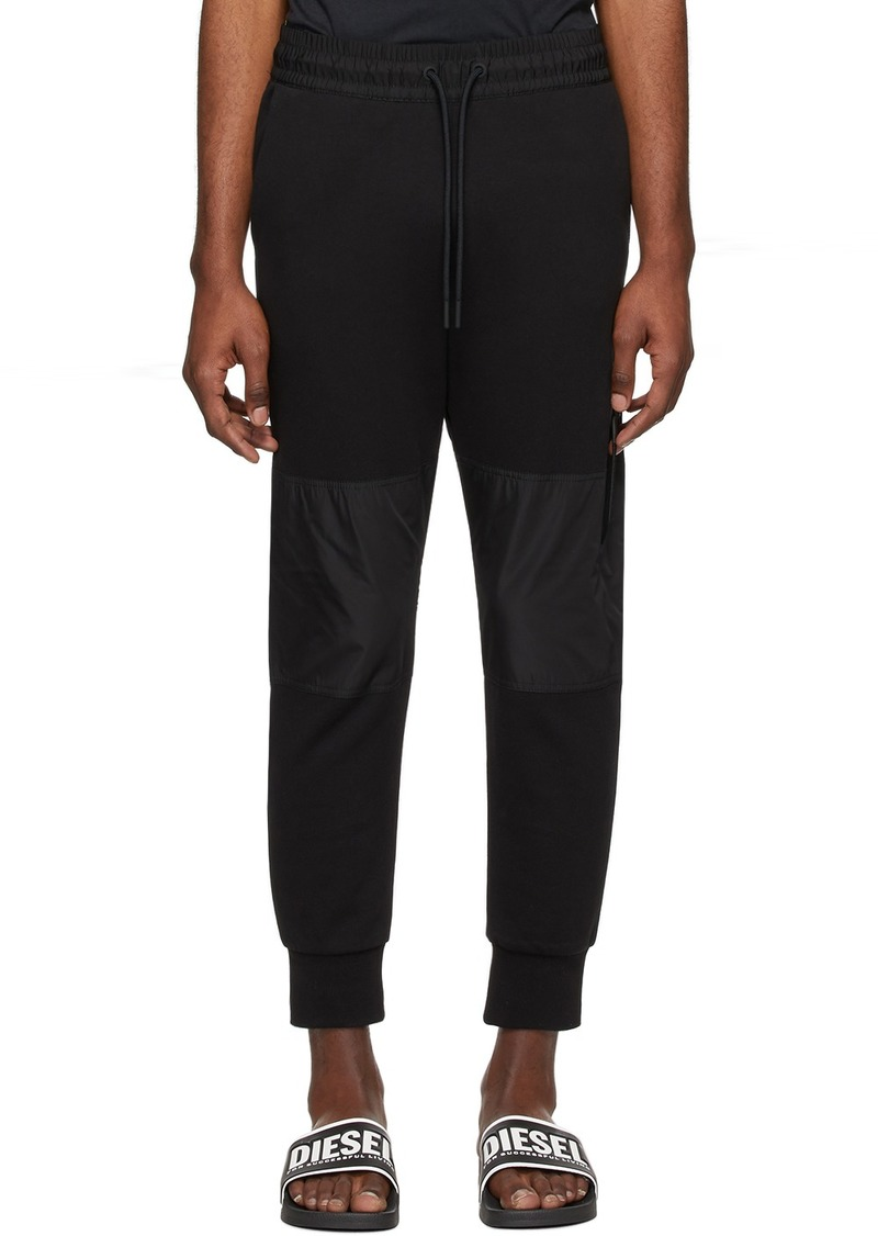 Diesel Black P-Ortex Lounge Pants