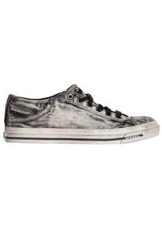 Diesel Bleached Denim Sneakers