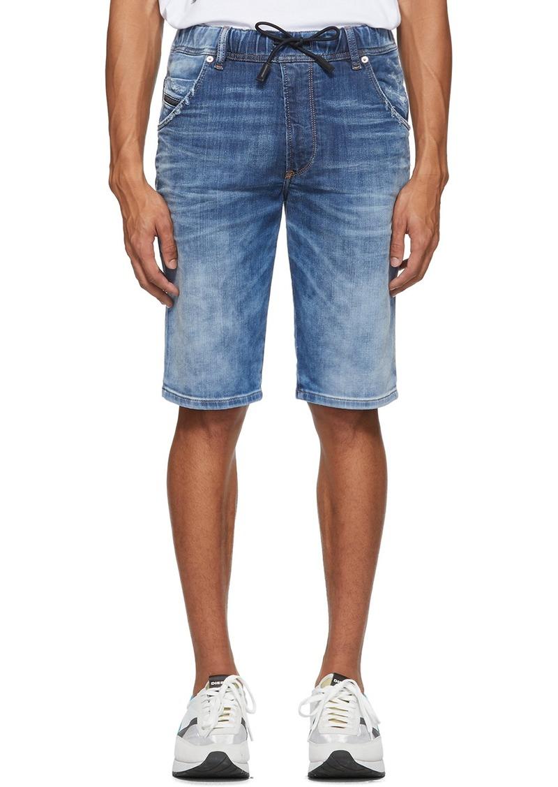 Diesel Blue D-Kroo Shorts