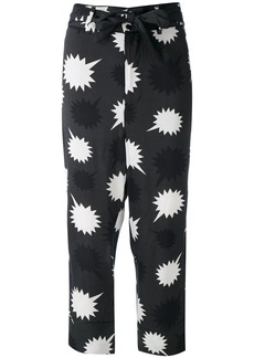 Diesel bow detail Pjama trousers