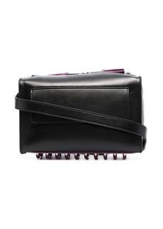 Diesel box-shape leather crossbody