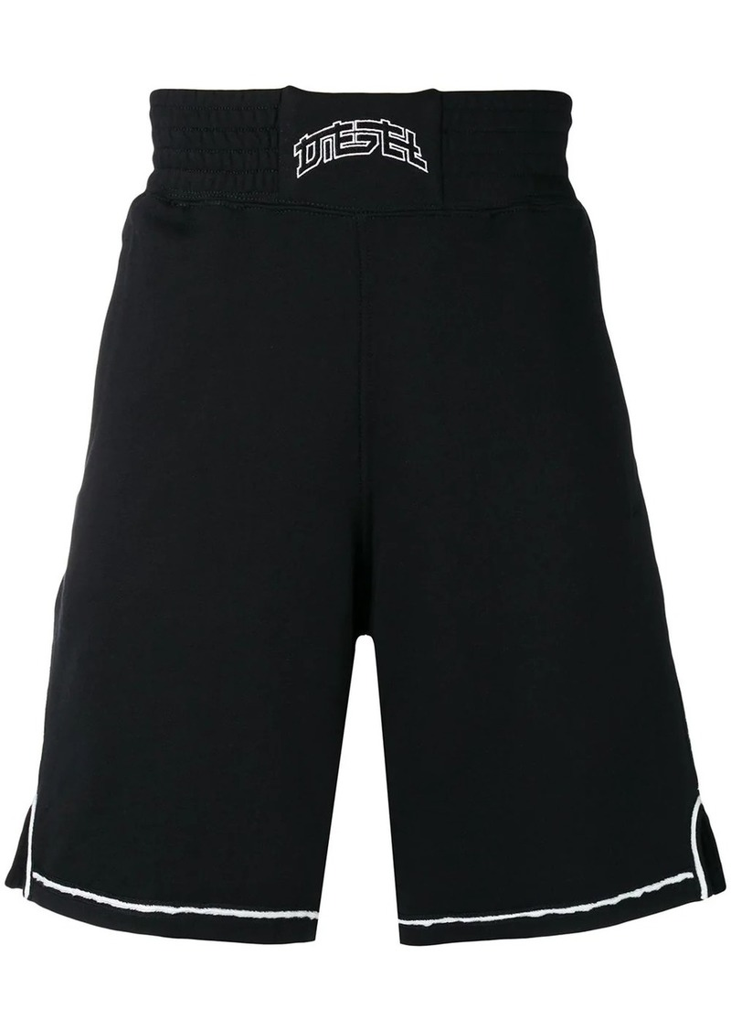 Diesel boxing-style shorts