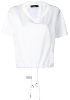Diesel boxy T-shirt with v-neck
